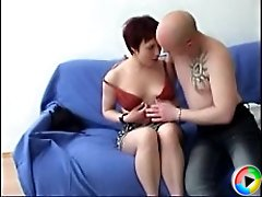 Lustful sexperienced chick having anal sex